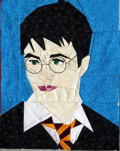 Fandom In Stitches: Harry Potter.  Lots of paper pieced ideas here.  The whole Harry Potter crew!