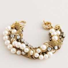 gold + pearls
