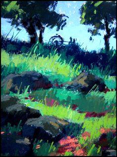 Hillside Silhouette by Terri Ford
