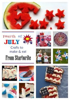 fourth of july crafts to make and eat