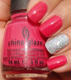 KellieGonzo: Two Pink Manicures