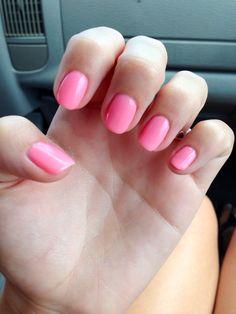 Shellac gel color nail polish