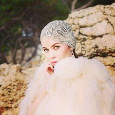 fashion, style, glansryk, hat, ulyana sergeenko