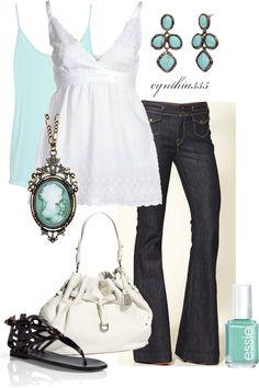 """""""Aqua"""" by cynthia335 on Polyvore"""