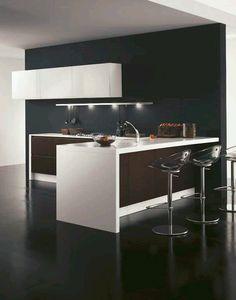 Ideas de cocinas on pinterest small kitchens - Barras para cocinas pequenas ...
