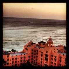 Waikiki // the Royal Hawaiian Hotel