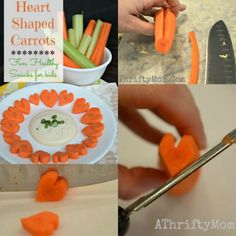 Heart Shapped Carrot