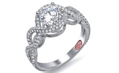 Double Halo Engagement Rings | TheKnot Blog