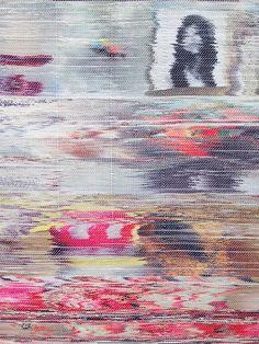 artists, screen, san francisco california, pattern, margo wolowiec, inspir, textil, fiber art, blues