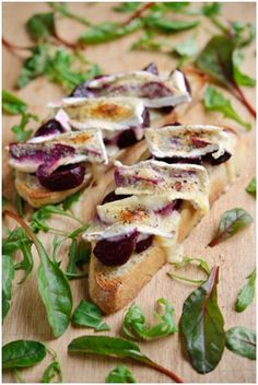Thomas Dux - Beetroot & Melted Brie on Toast