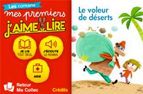J'aime lire: original stories from the popular magazine available for ages 3-5, 6-7, and 8-12; the first three are free (Delphine recommends)