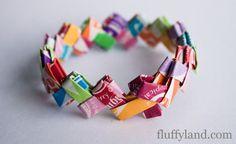 Starburst Wrapper Bracelet Tutorial - Fluffyland Craft & Sewing Blog
