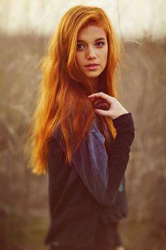 ginger, red hair, new hair colors, beauti, senior portraits