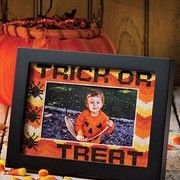 Halloween photo frames to cross stitch patterns