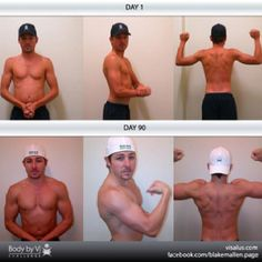 Real People Getting Real Results!  A Challenge For Anybody and Any Body! Blake Mallen Crushing HIS 90 Day Challenge.
