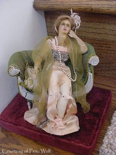 Frau Wulf's Boudoir Doll Blog: More Lafitte Desirat Wax Figures