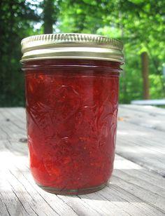 Strawberry freezer jam!!! :)