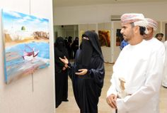 Oman | Muscat Art Exhibition Opening. credit: ONA. view on https://www.facebook.com/SinbadsOmanPocketGuide  #oman #traveltooman #MyOman #travel #muscat