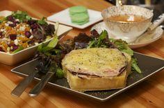 C'est la vie butternut squash, favorit place, nut salad, croqu monsieur, la vie, pine nut, cest la, monsieur sandwich, pistachio