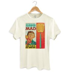 Camiseta Masculina Special Summer Issue Of MAD #MAD #madmagazine #altredneuman