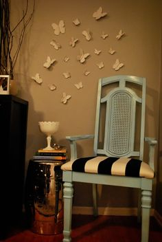 DIY: 3D Butterfly Wall Art