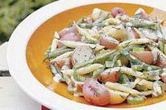 Garden Fresh New Potato & Bean Salad recipe