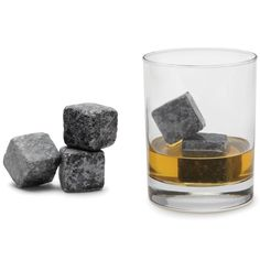 The Non-Diluting Whisky Cold Stones - Hammacher Schlemmer