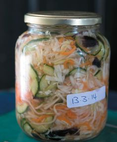 Fermented food are s