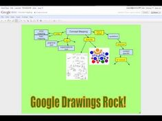 Concept Mapping with Google docs Drawings