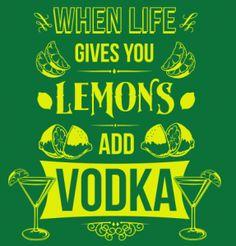 Lemons & Vodka – 6Dollar Shirts « Daily T-Shirts