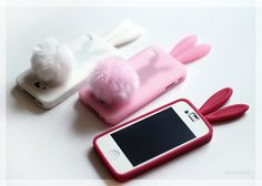 Cute iPhone bunny cases