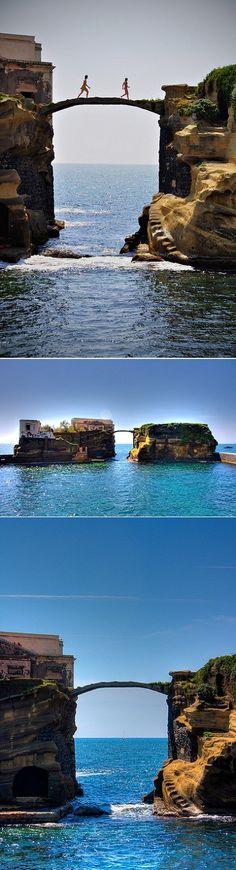 Isola della Gaiola in Italy