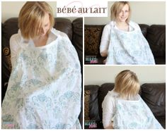 Bebe au Lait Muslin Nursing Cover Isla A muslin nursing cover!!! So much better in the summer than a cotton one!