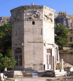 Tower of the Winds, Athens, Greece (1st century BC)