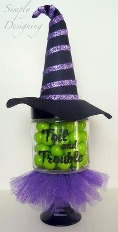 Candy Dish Halloween idea