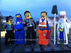 Cool DIY LEGO Costumes for Siblings... Coolest Halloween Costume Contest