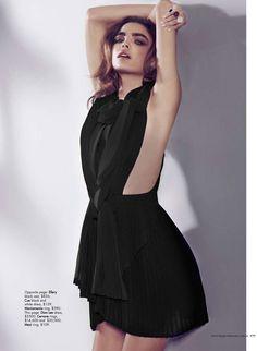 Dion Lee. Harper's Bazaar.