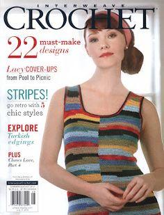 REVISTAS DE MANUALIDADES GRATIS: Interweave Crochet summer 2012