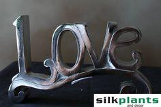 Love, Home Decor, Silk Plants and Decor, Live, Laugh