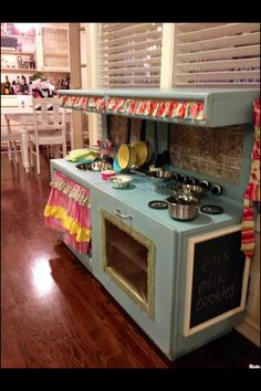 The Daily Uptown Country- play kitchen