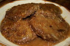 Deep South Dish: Hamburger Steak with Creamy Onion Gravy