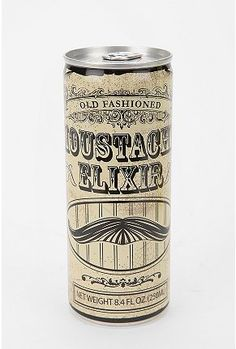 for the mustache