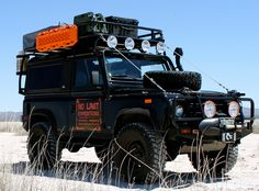 No Limit X - Land Rover Defender 90 I 110 Customized for Adventure Travel
