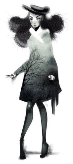 Whitney Pollett - #clippingmask #silhouette
