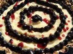 Blueberry Lemon Curd & Yogurt Tart
