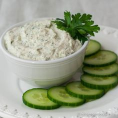 Tzatziki Sauce is perfect for dipping veggies/crackers OR spreading on wraps (like my favorite falafel wrap!). This sauce is great because it is dairy AND soy free.