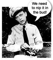 Perhaps the best character actor on TV ~ Barney Fife!