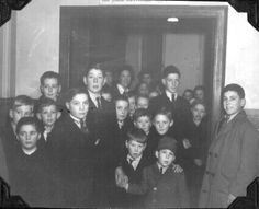 The airmen of the 381st Bomb Group hosted Christmas parties for the local English children.
