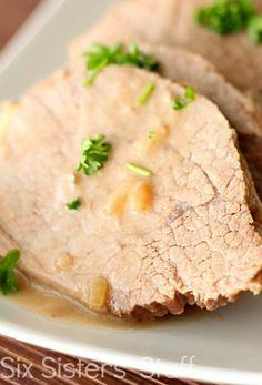 Slow Cooker Roast Beef & Gravy