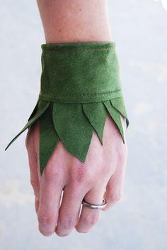 leaf cuffs.